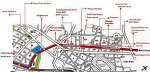 The Plan For Dwarka Expressway