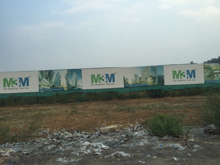 M3M Group's land which was purchased from Sahara at Chauma village