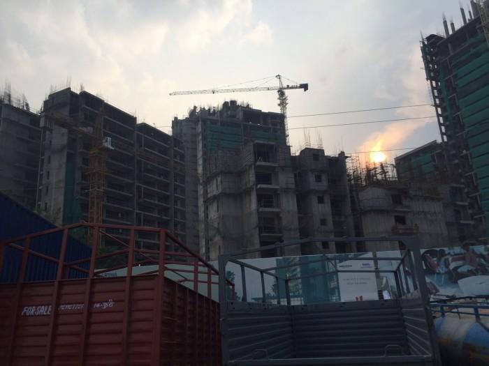 Under construction TATA Gateway towers