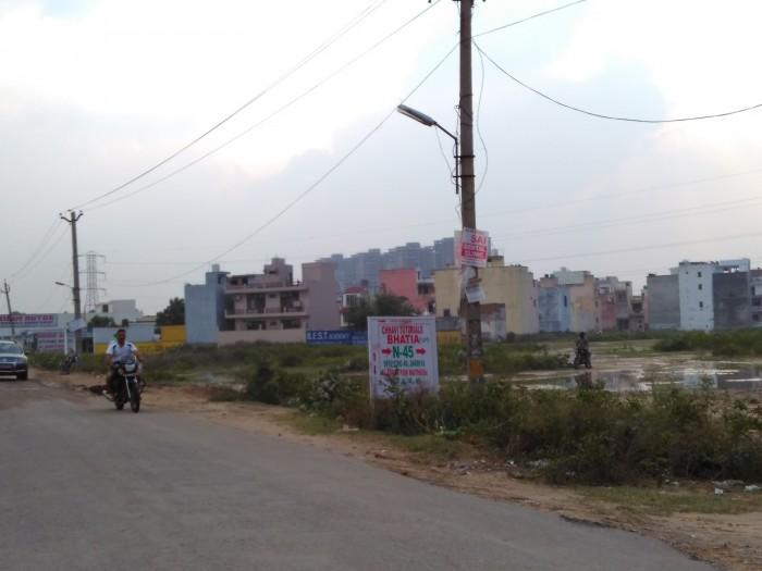 Villages around the Dwarka Expressway