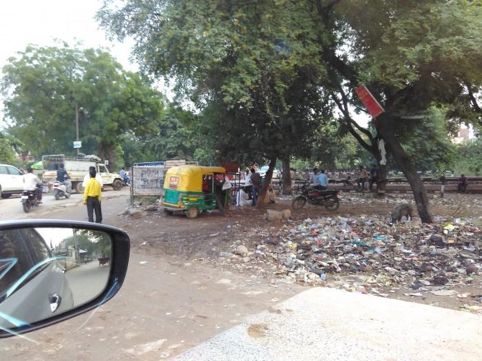 Approaching Dwarka Expressway through Palam Vihar