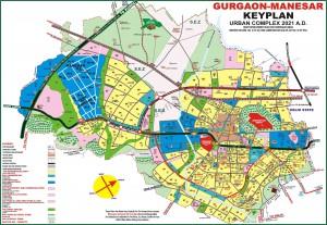 GurgaonNewmap-extension road