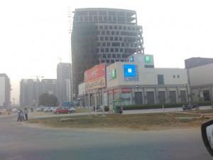 The shopping hub- Town Square