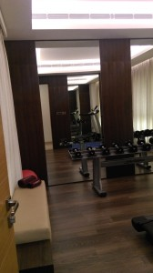 Work out space on the second floor