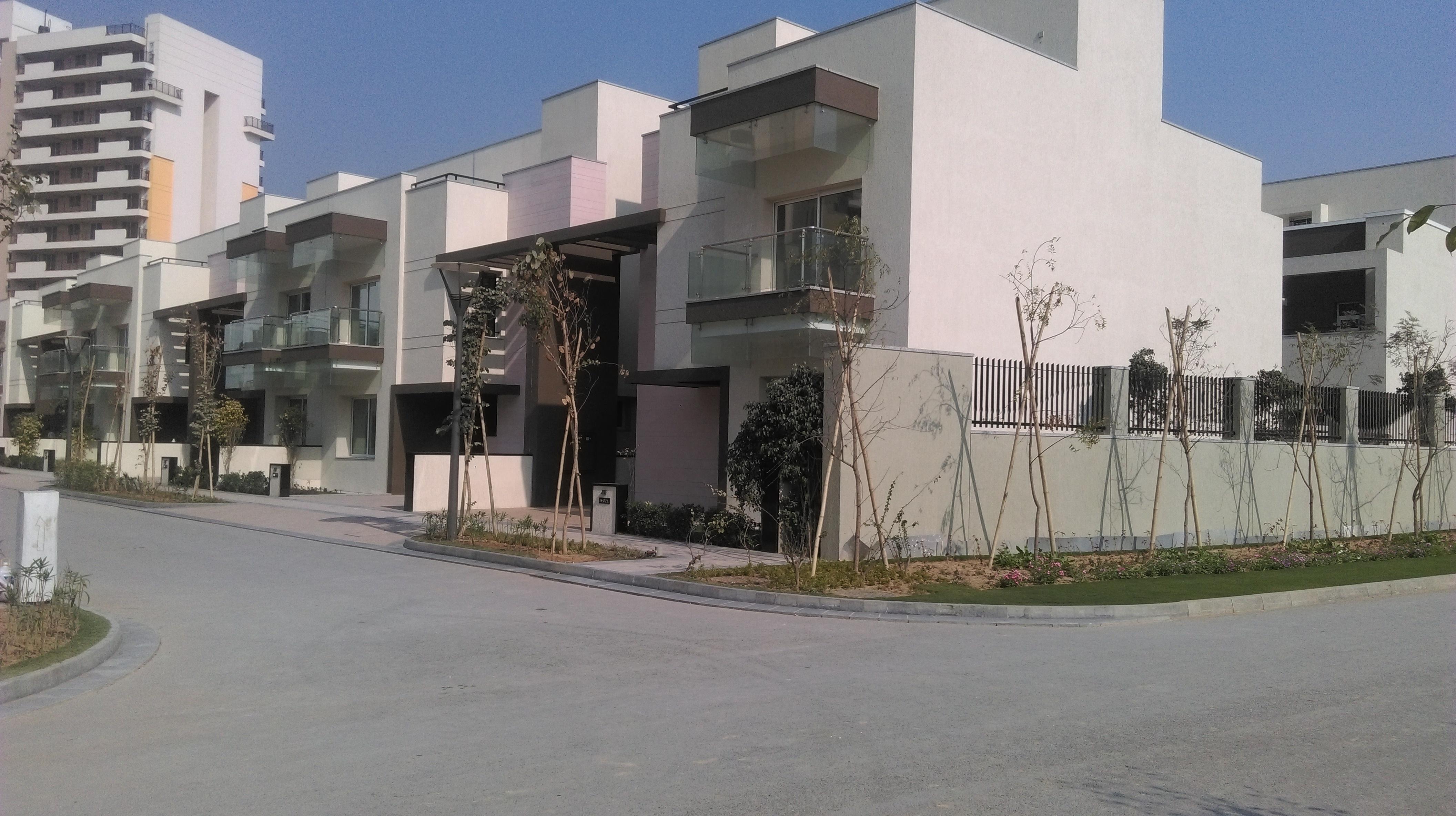 Villas ready for possession at Sobha International City