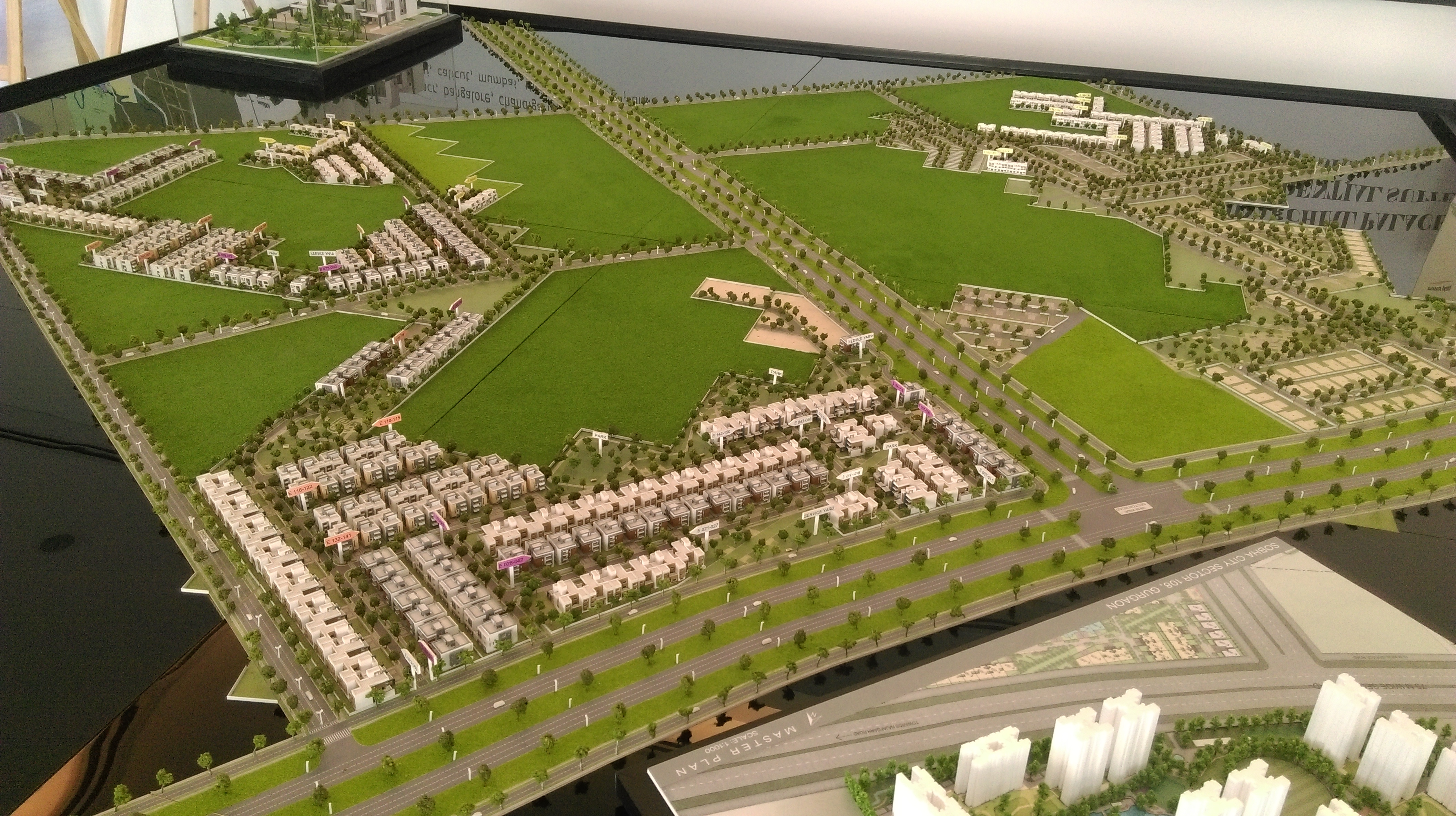 Master Plan of Sobha International City