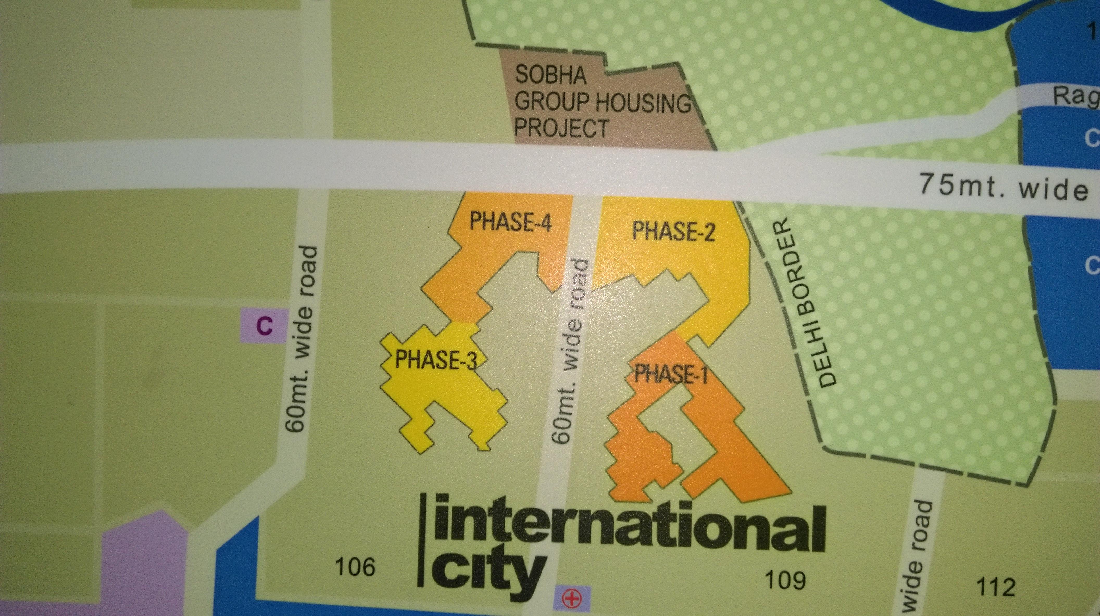 Phased development at Sobha International City