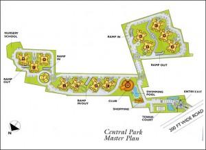 Central Park 1, Gurgaon Site Plan