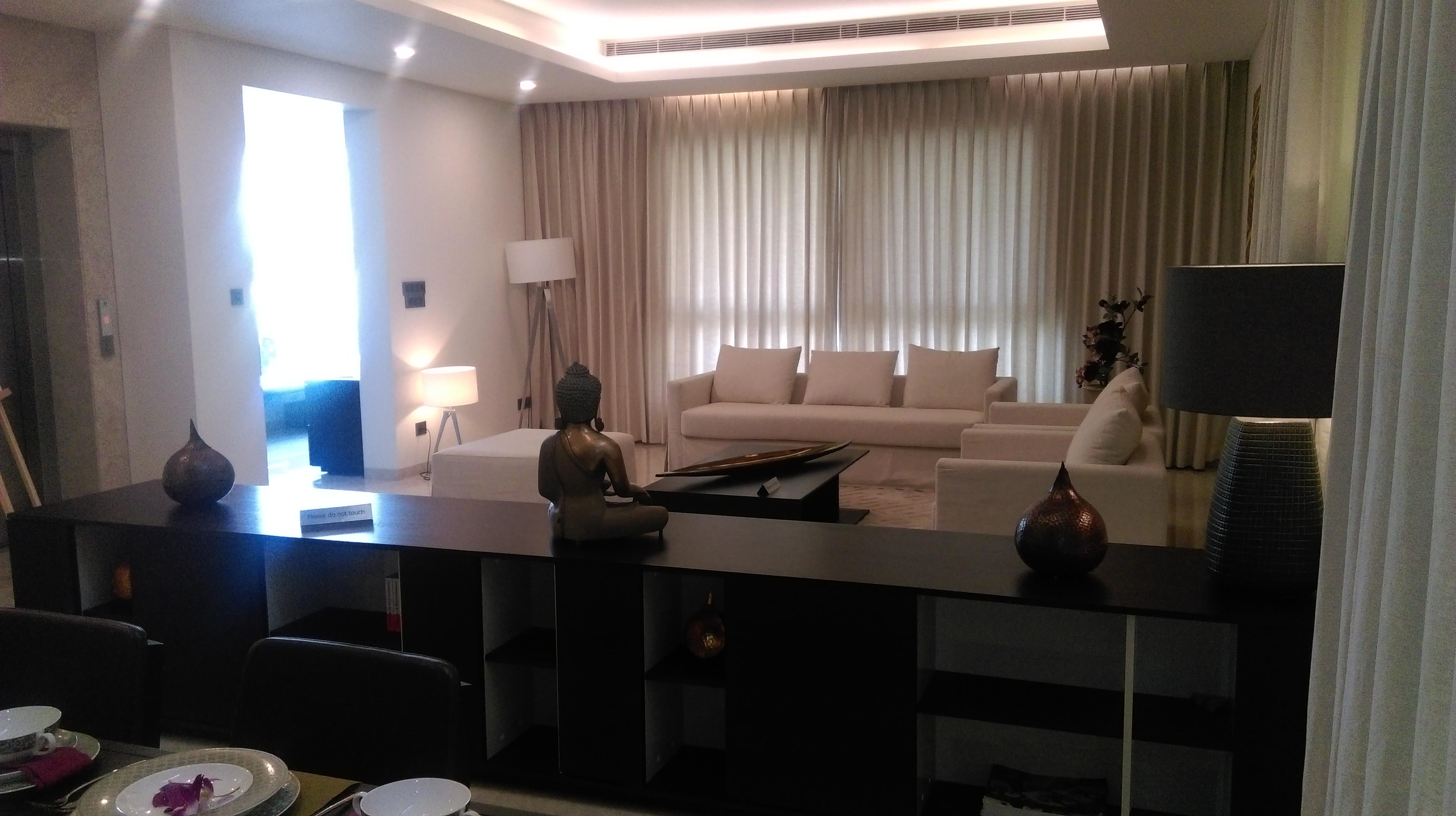 Formal living room at Sobha International City Presidential Villa