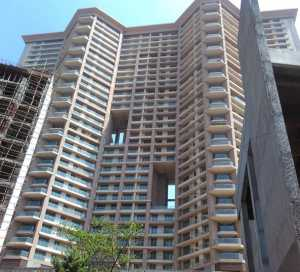 Raj Grandeur towers at finishing stages
