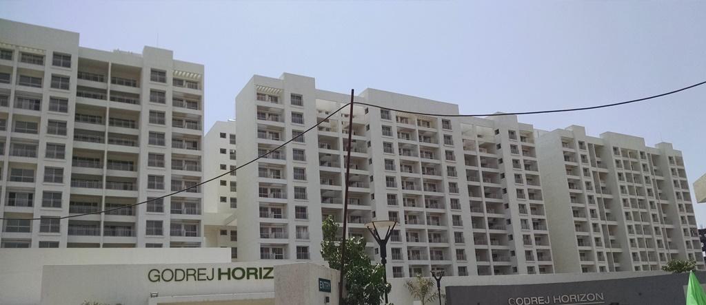 Site photograph of Godrej Horizon