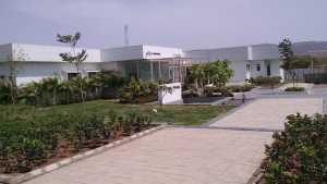 Sales office at the site of Godrej Prana
