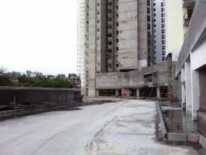 Under construction towers as seen from club house site, Brigade Cosmopolis