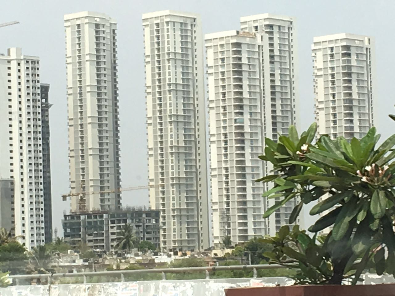 Site photograph of Lodha Bellezza project in Kukatpally, Hyderabad