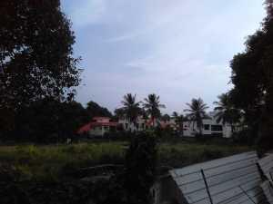 TZED Villas, backside of Brigade Cosmopolis