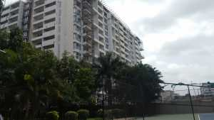 One of the apartment complexes of Godrej Woodsman Estate