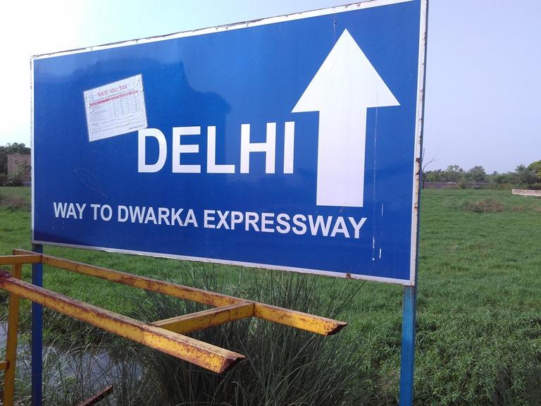 Delhi begins here - Dwarka Expressway