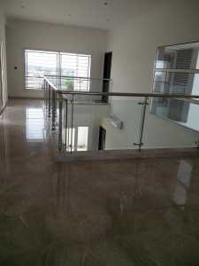 Double height drawing area upper level Sobha Duplex