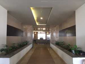 Perspective view of lobby