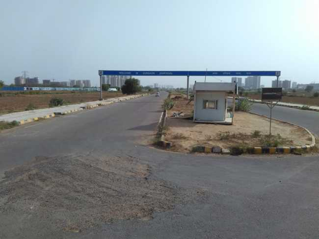 The lain patch of Dwarka Expressway