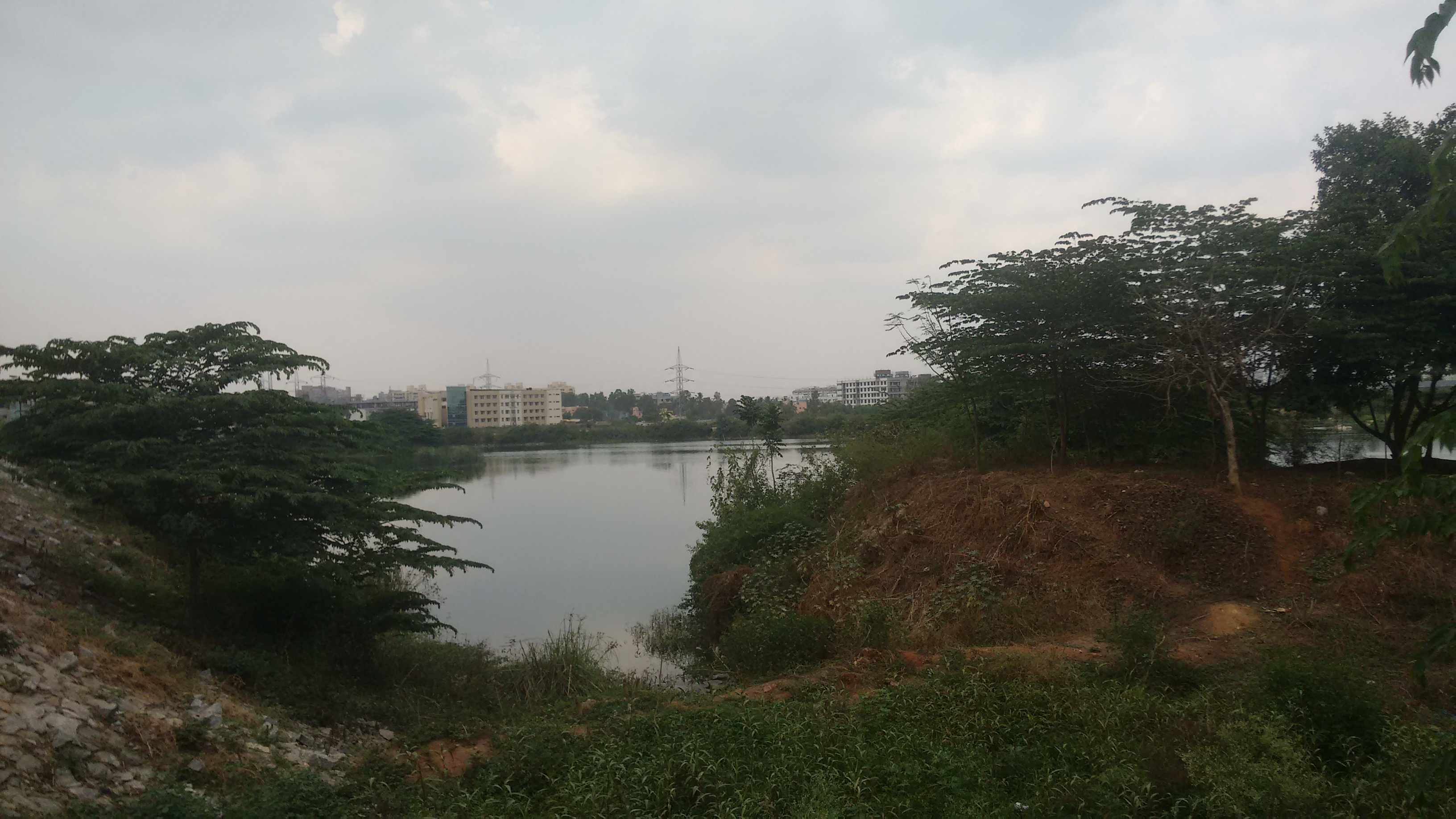 Seetarampalya lake, restored and maintained by the Brigade Group