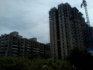 Ongoing construction atPurva Westend