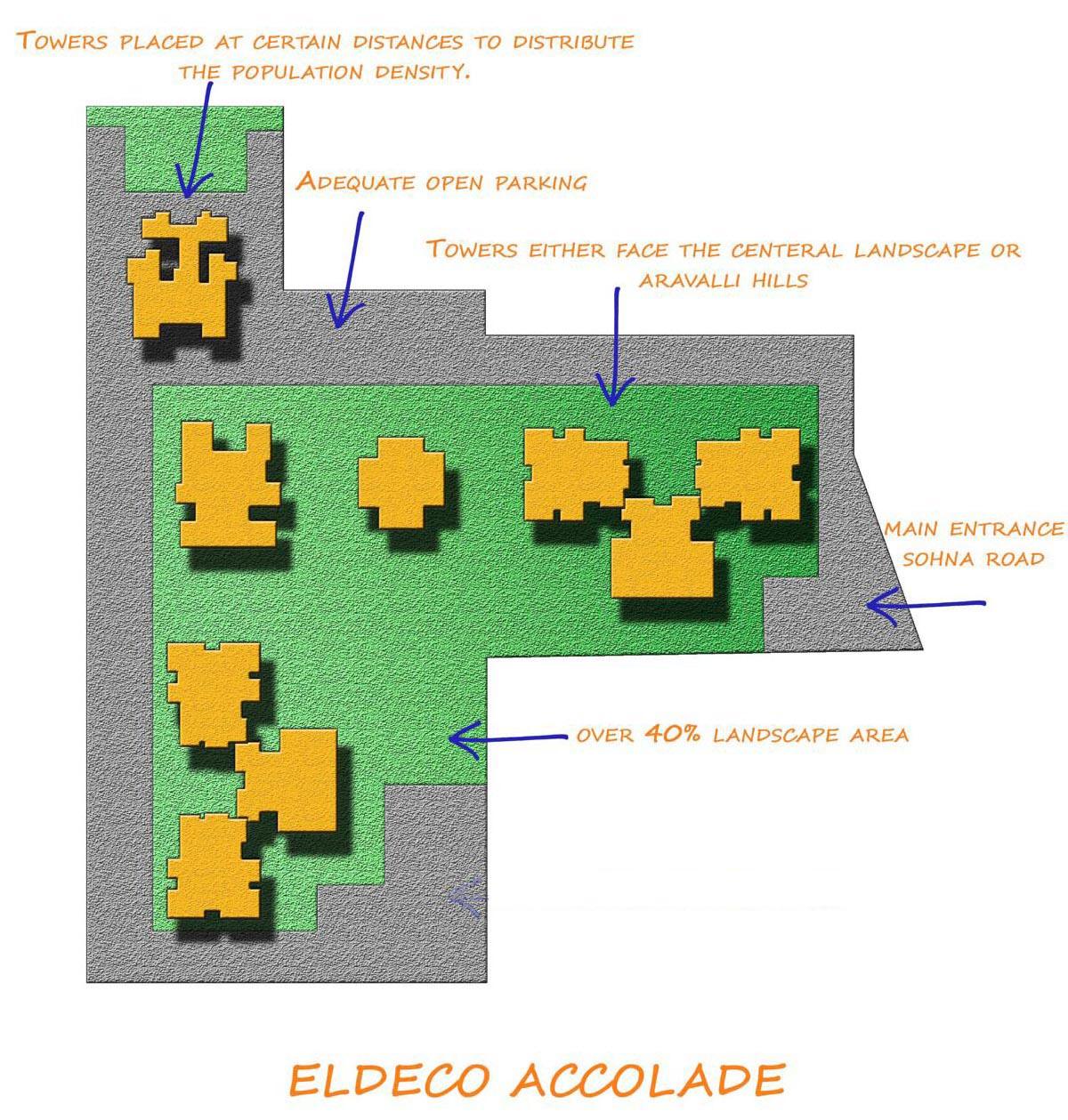 Eldeco Accolade Design Features