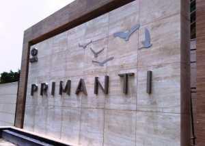 Entrance to TATA Primanti