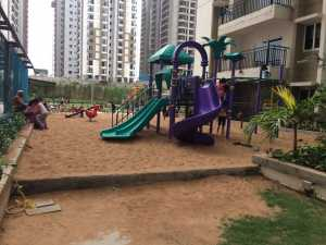Dedicated children's play area