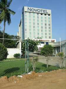 Novotel and Ibis hotels-opposite SIPCOT IT park