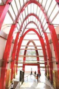 ILD Trade Centre Entrance Plaza