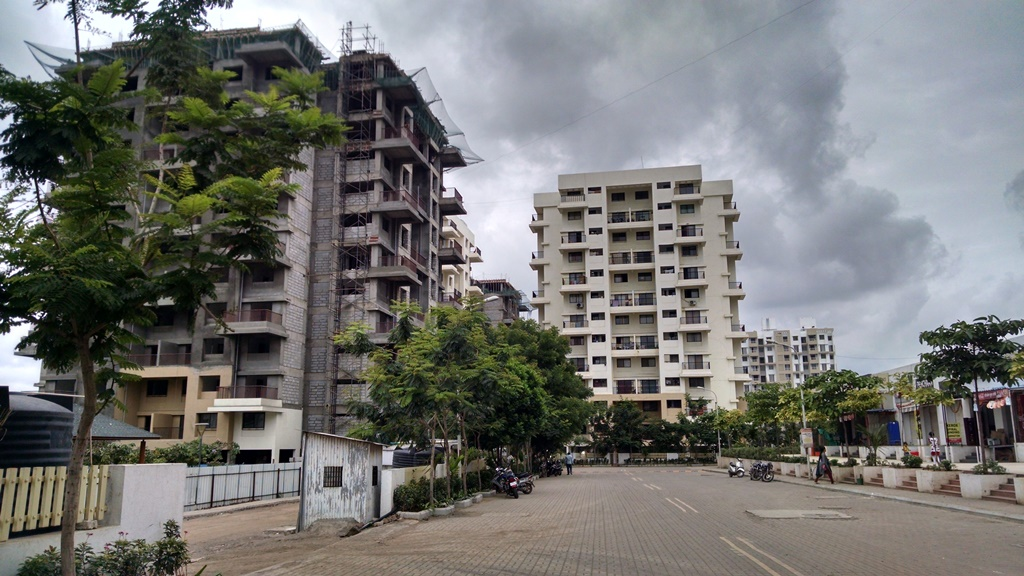 Site photograph of Kolte-Patil's Ivy Estate in Wagholi