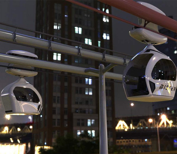 Proposed POD Taxi project in Gurgaon