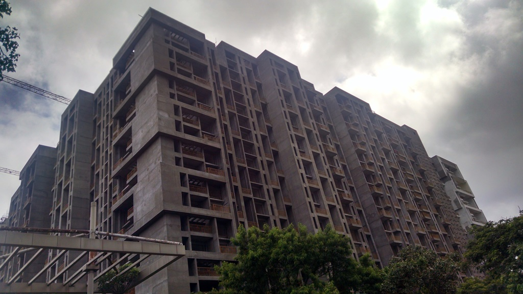 Site of f-Residences by Brahma Corp in Wadgaon Sheri off Nagar Road