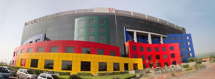 Adobe India Headquarters in Noida (Image Source: Scoopwhoop.com)