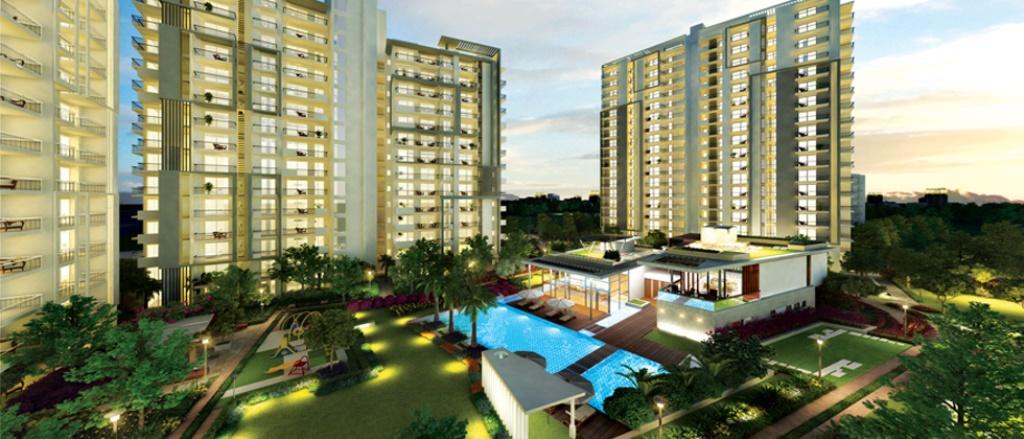 Indicative Image of Godrej Oasis in Gurgaon, once complete (Image source: Godrejproperties.com)