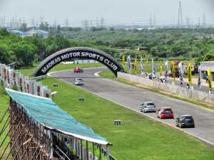 The Irungattukottai race track