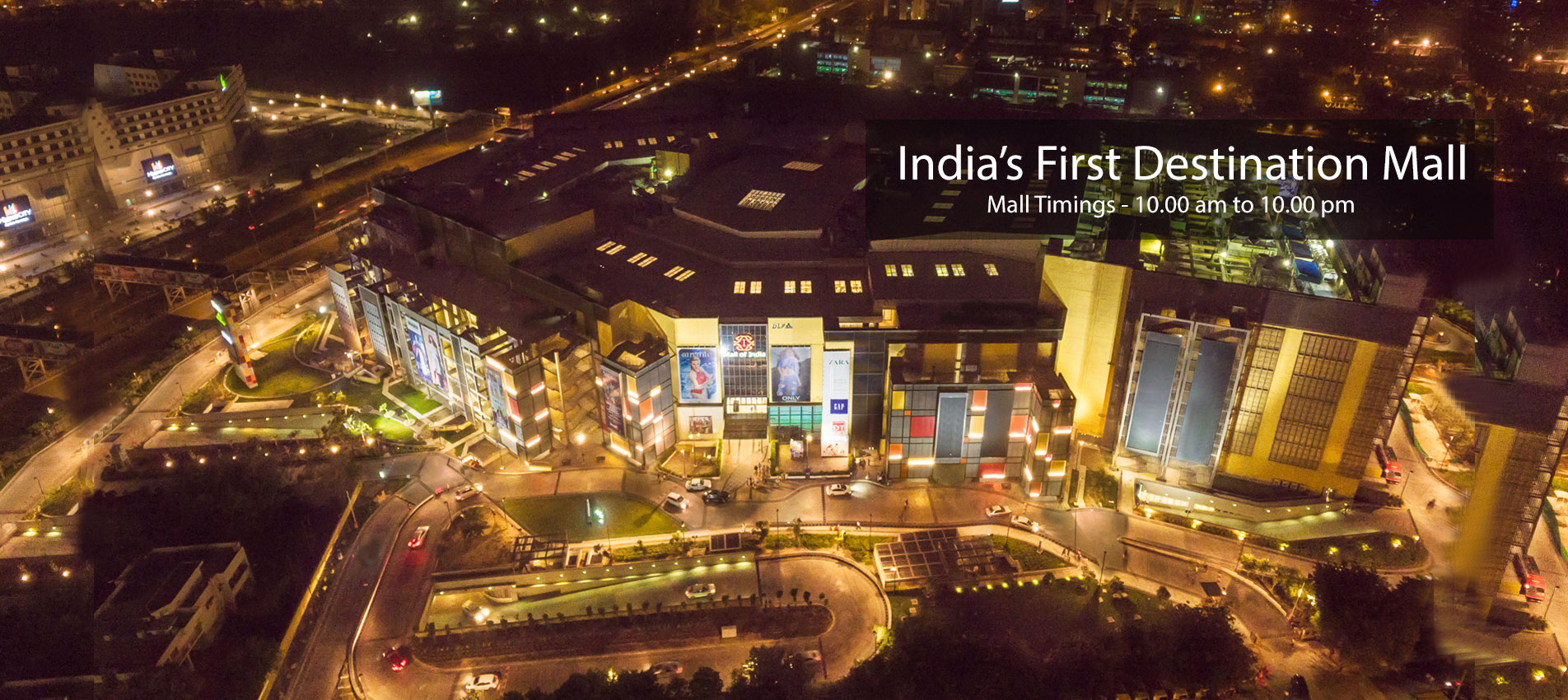 The biggest mall of India- DLF - Mall of India