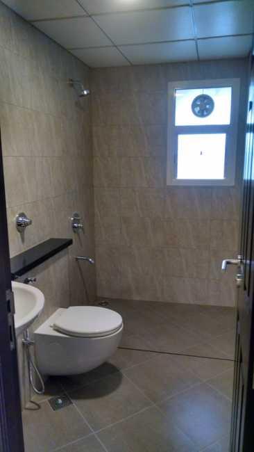 Bathroom in sample apartment in Sobha Orion