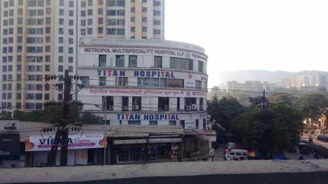 Titan Hospital, Raunak Heights, Thane