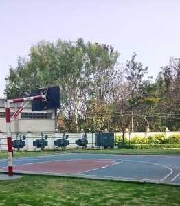The basketball court at Purva Venezia
