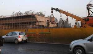 Flyover work at Hero Honda Chowk Gurgaon