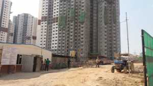 Prestige Sunrise Park under construction, electronic city