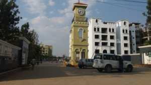 Entrance ofGM Infinite E-city Town