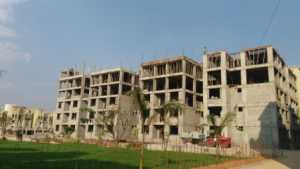 Other blocks in GM Infinite E-city Town under construction