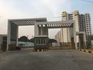 Front gate of Purva 270, CV Raman Nagar, Puravankara