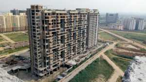 An apartment building at ILD Greens project in Gurgaon.