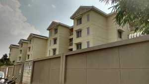 The luxurious buildings at Sobha Dewflower project in JP Nagar, Bangalore