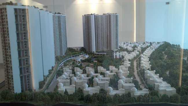Neelkanth Woods project model