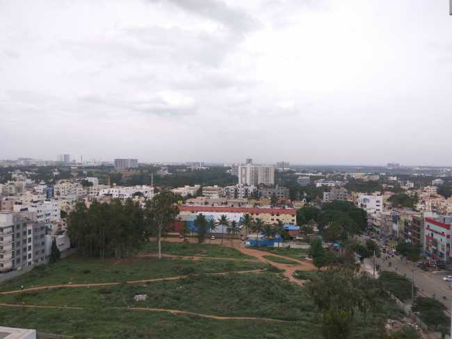 Mahaveer Maple- A view from the balcony